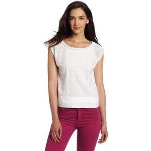 French Connection Women's in Bloom Croquet Top